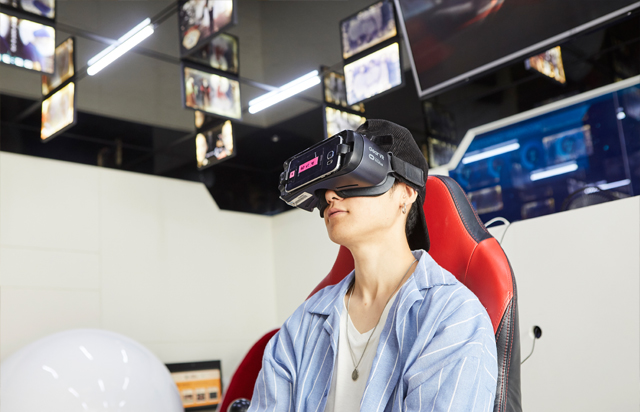 VR 체험 이미지